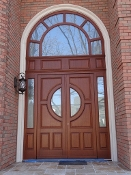 Traditional European Exterior Door Model 031