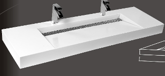 Model 1371 Bathroom Wallmount Sink
