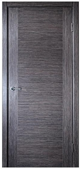 Milano Modern Interior Door Grey Oak Finish