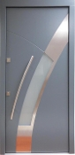 Model 006 Custom Meranti Wood Exterior Door