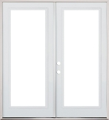 "French Patio Doors Prehung - W 60"" x H 84"""