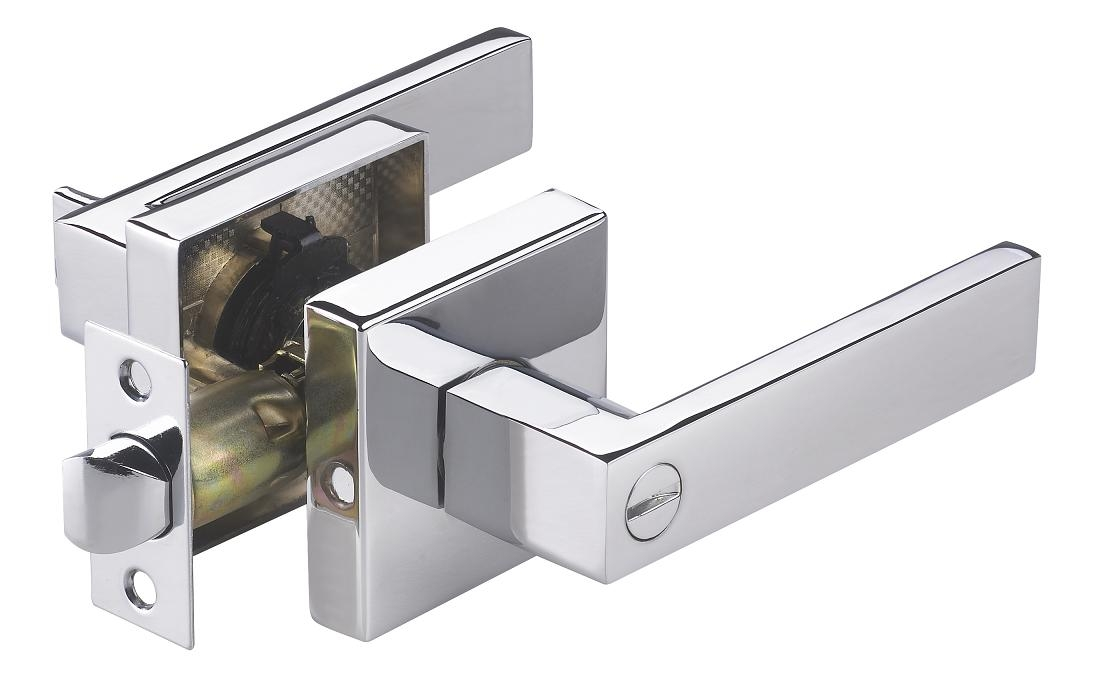 "Bathroom Doors Handles accent"" cp modern privacy interior door handle - modern home luxury"