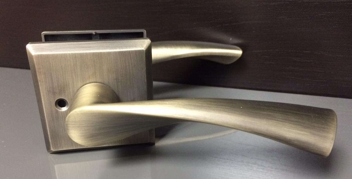 "Modern Interior Door Handles lena"" oil rubbedbronze finish contemporary interior door handle"