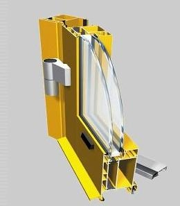 Ponzio Aluminum NT 60 PT - Tilt and Turn Window