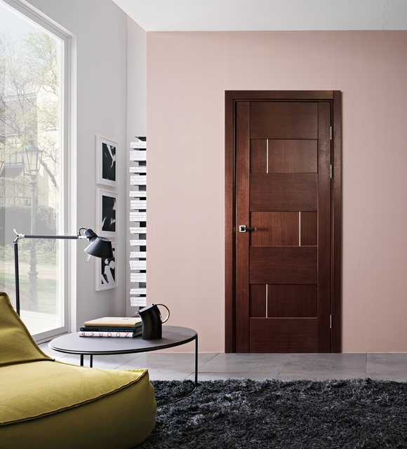 Dominika Interior Door Wenge Finish - Modern Home Luxury