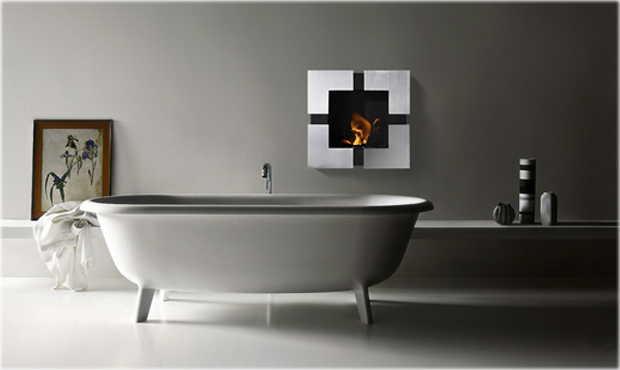 Recessed Fireplaces,Recessed Ethanol Fireplaces,Ventless Fireplaces
