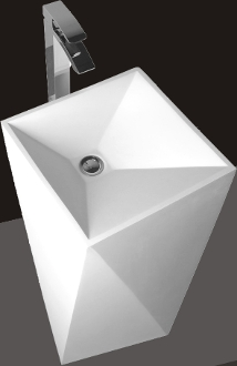 Model 1387 Bathroom Pedestal Sink
