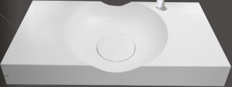 Model 1372 Bathroom Wallmount Sink