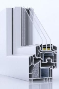 Veka Alphaline 90 PVC Tilt and Turn Window
