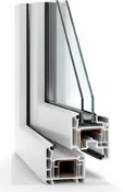 Veka Perfectline PVC Tilt and Turn Window