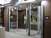 Exterior Bi Folding Doors Available in Wood & Aluminum