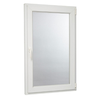 "W 30"" x H 54""  PVC Tilt and Turn Window"