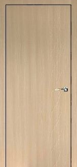 """Seville"" Cedar Finish Modern Interior Door with Engraved Design"