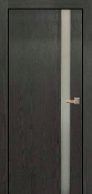 """Valencia"" Modern Interior Door Graphite  with Frosted Glass"