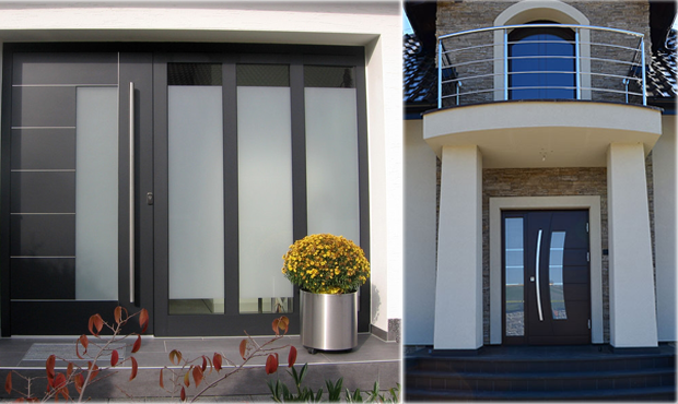 Contemporary exterior doors modern home luxury for Contemporary house doors