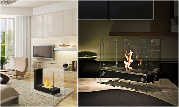 Magnificent Free Standing Fireplaces Free Standing Ethanol Fireplaces Interior Design Ideas Philsoteloinfo