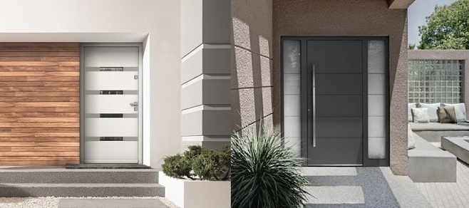 Contemporary Exterior Doors Modern Home Luxury